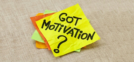FIND MOTIVATION  The most important part of any weight-loss or fitness plan is motivation. Find something that will keep your focus on your end goal and you will get there! Who cares if you fall off track? You just need to remember to find your way back and keep on working for what you want!