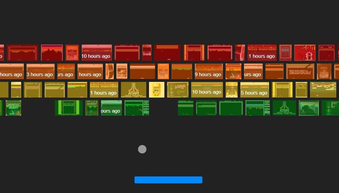 If you type in to google images Atari Breakout it should appear with Ataris Classic game Breakout