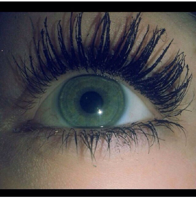 To make your eye lashes look longer is the easiest thing in the world without putting weird things on your eyes! All this requires is two bottles of mascara
