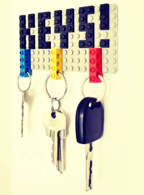 Lego Key Holder By Domy C Musely