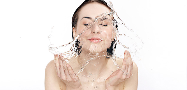 Instead! Wash your face with lukewarm water then cold water.