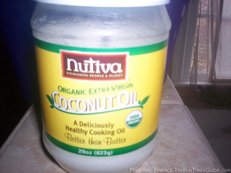 Step 1: get any coconut oil product but make sure it is all natural products