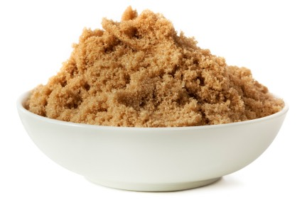 1 Spoonful of Brown Sugar!!   Benefits of Brown Sugar:   Brown sugar is used in a lot of facial scrubs because it's exfoliating, but did you know it's good for your hair too?