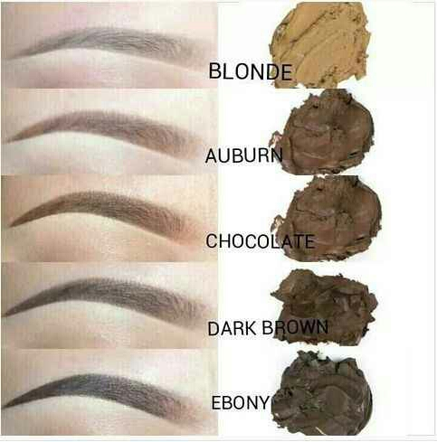 10. Choose a fill-in color that is one shade lighter than your natural brow color for a softer look. A deep black color can look severe even on black brows.