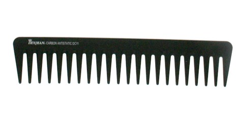 After a shower or when your hair is wet use a wide brush comb as this will course the minimum damage to your hair ...