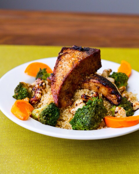 Tofu, Nuts, and Broccoli  Power up after your workout with this colorful, flavorful meal. Tofu and cashews lends protein, while broccoli bring nutrients like vitamins C and K, and folate. Fresh citrus adds vitamin C, plus sweet, refreshing flavor.