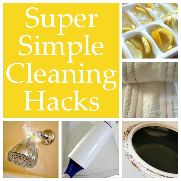 These simple cleaning hacks will make your daily cleaning tasks a little easier.