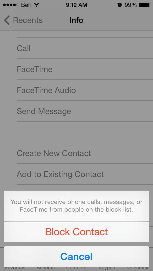 Select and Block Contact! There you go, no more annoying phone calls from automated machines or telemarketers! 👍 plz like