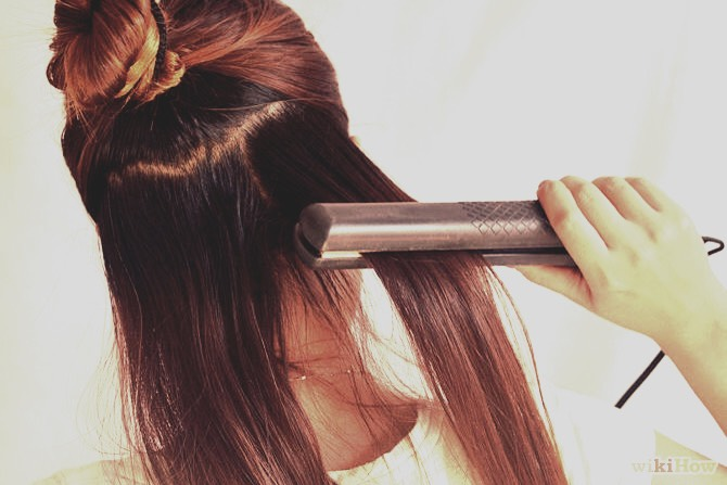Number one: stay away from using heat on your hair as much as possible 🙅 no blow drying, curling or straightening ☝️