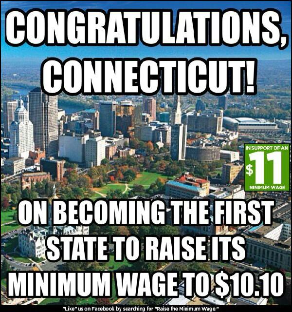 first state to raise minimum wage