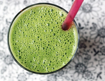 Kale  Kale is rich in organosulfur compounds, which have strong anti-cancer properties- this smoothie is a great way to introduce kale to kids!