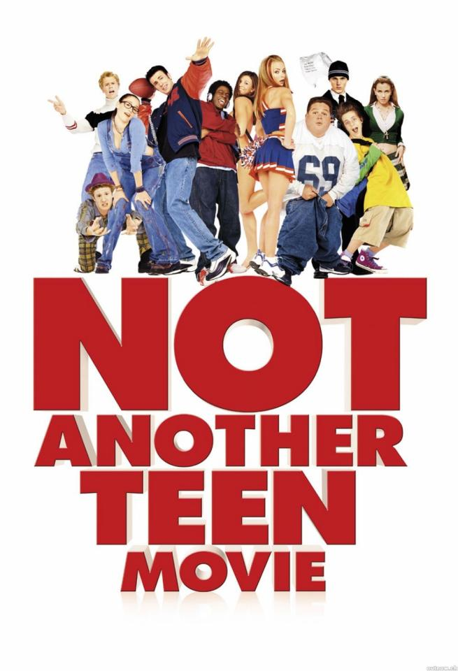7. Following the same story line as she's all that, Not another teen movie is a comedy that throws together many other teen movies into one funny spin off.