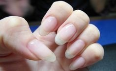 Apply to nails.