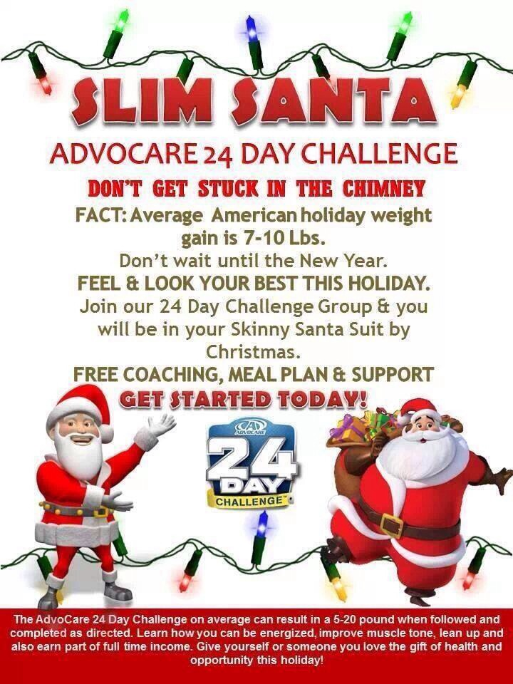 Www.advocare.com/10023662 Give yourself the gift of will power for Christmas. Get a jump start on your New Years goals. Need change Advocare can help physically and financially. Have a cash Christmas and say out of holiday debt.