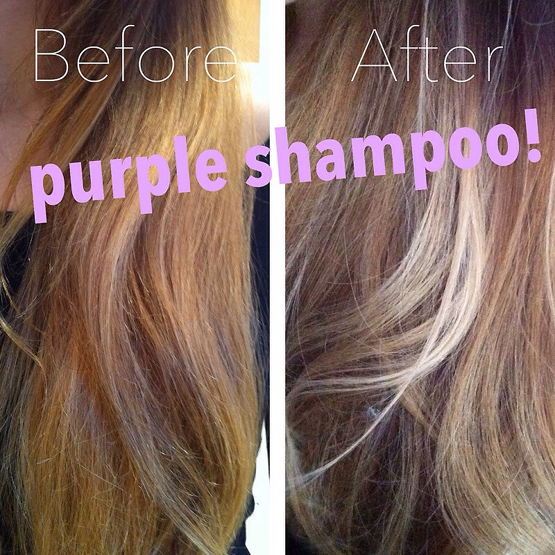 To Keep Blonde Hair From Getting Brassy, Use A Purple
