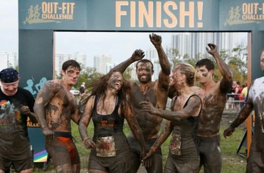 Attend a mud run!