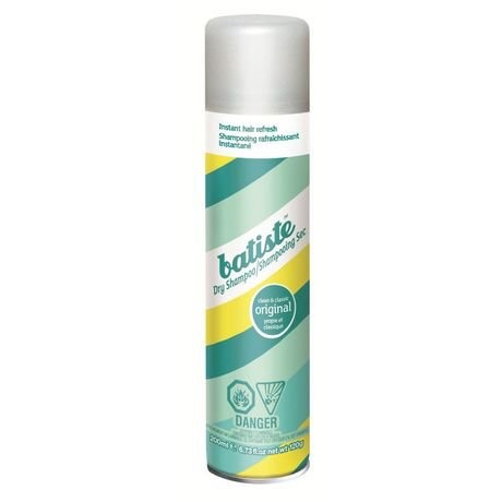 This brand of dry shampoo is voted #1 in america. And it works amazing. I use it in between washes since your not suppost to was your hair everyday since it does take away the natural oils that your hair needs. Plus it gives you a nice scent and colume