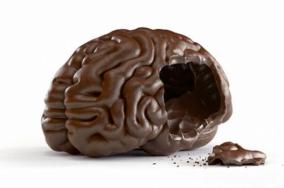 . Boosting your brain If you feel the urge to grab a chocolate bar when you're suffering from writer's block or when you're feeling stressed at work, then don't stop yourself and indulge. Flavanol, which cocoa is well-known for, is said to help boost blood circulation in the brain — instant mind