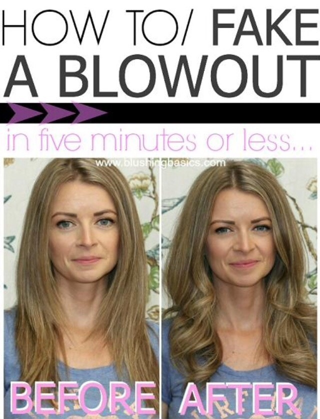 How to fake a blowout.
