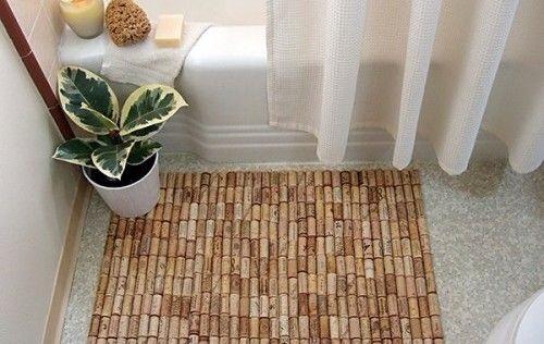 --> DIY Wine Cork Floormat.