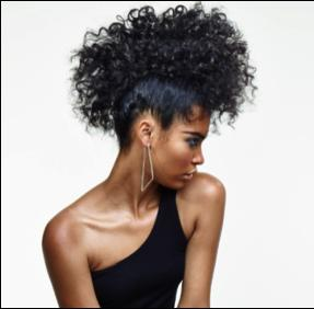 (3) then combined the Smooth Combing Crème and the Volume Foaming Air Mouse for added hold before blow drying.