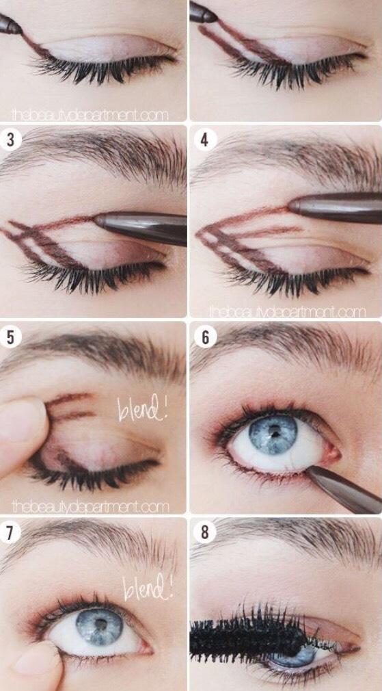 Easy eye look