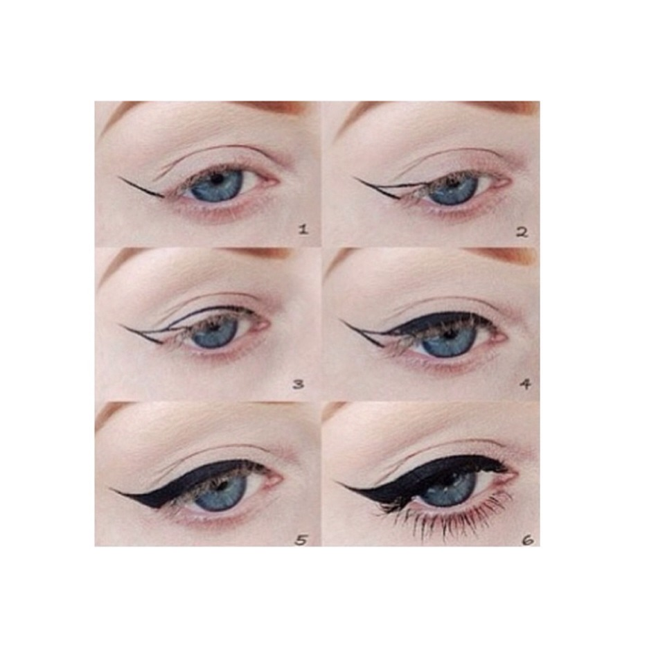Easy Way To Do Cat Eye Eyeliner Great For Beginners By Rikki