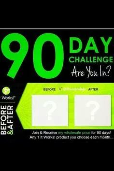 or ask me about my 90 day challange. I have a few openings for wraps, and hair skin and nails.