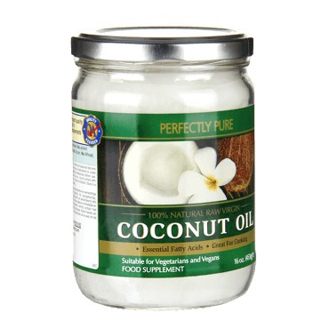 Put two table spoons of coconut in the microwave for 10 seconds. Then rub it in your hair for 5 minutes. Leave it in your hair for 2 to 5 hours. Then shampoo out.  Ps. You might need to shampoo 2 times to get it all out