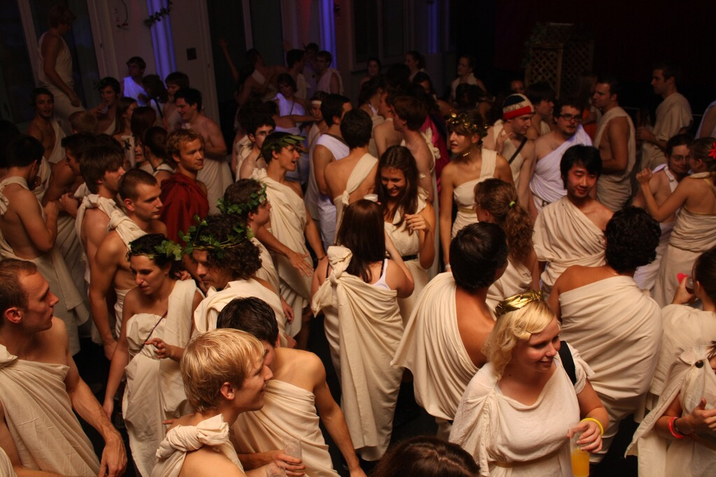 Ever Since The Movies Animal House Theme Toga Party Has Been A College Classic And Is Ingrained In Culture