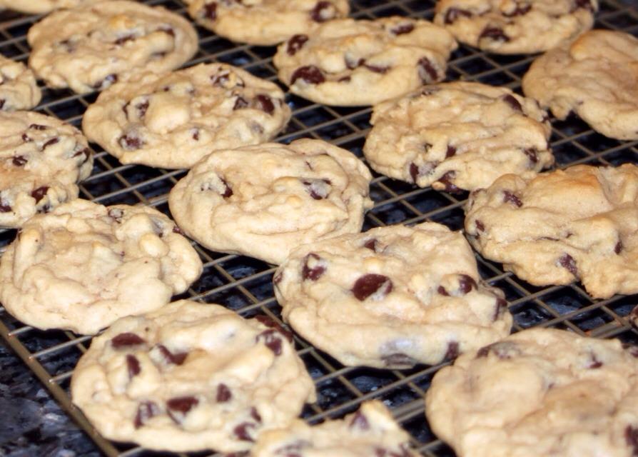 Delia Chocolate Chip Cookies