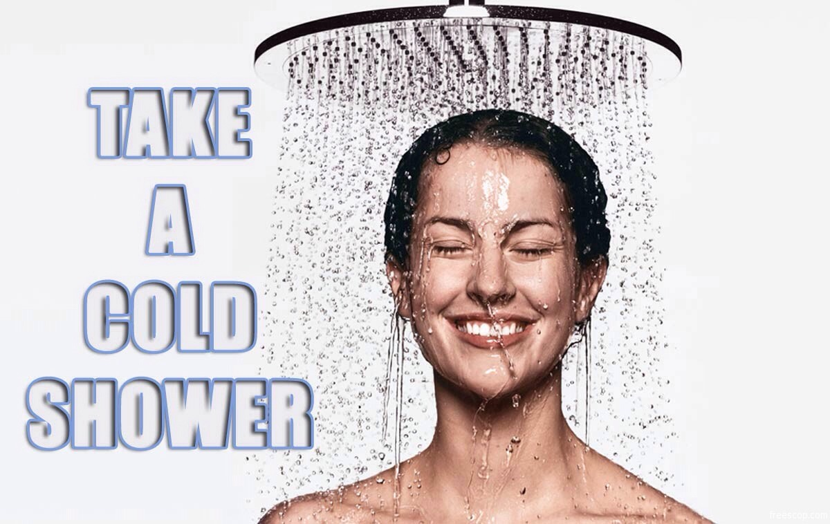Take a cold shower in the morning and rinse out the oil with shampoo. Cold water is much better for your scalp and doesn't dry it out.