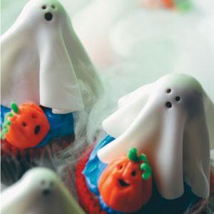 Sugar Ghost Cupcakes recipe!