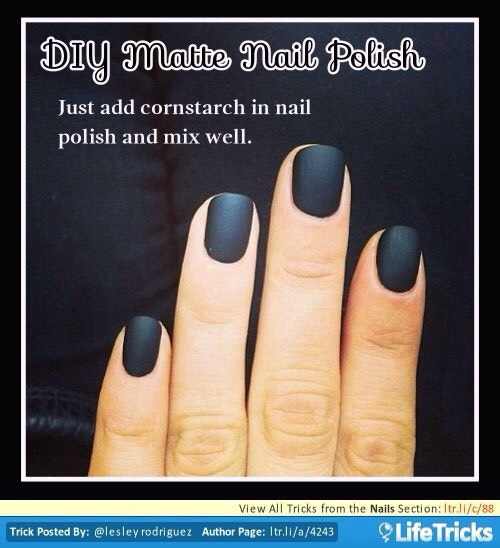 Diy Matte Nail Polish 💅🏻👍🏻 by 🌸fabulous tochis🌸 - Musely