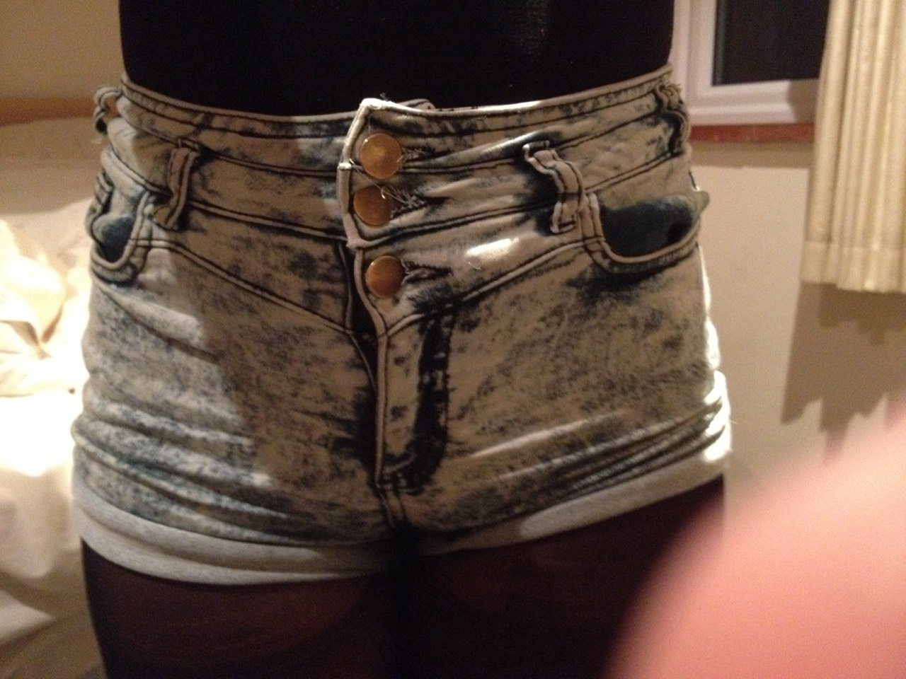Some high top shorts