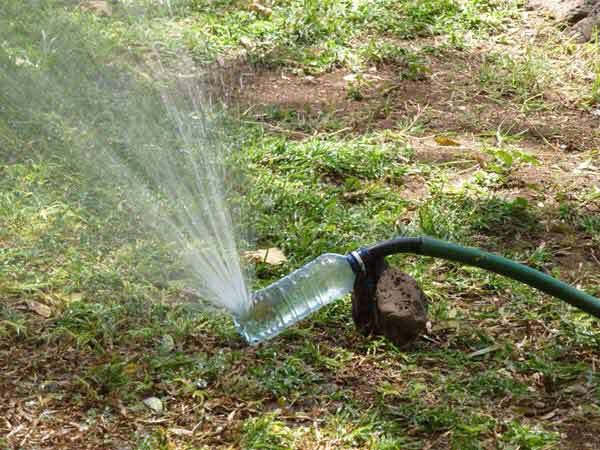 For Those Caught Without A Sprinkler
