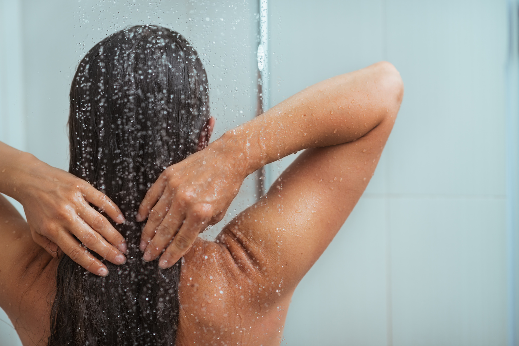 Dont  wash your hair every day !! wash your hair up to 4 times if that a week. the natural oils in your hair will keep it healthy and wont be stripped so often from shampoo and conditioner