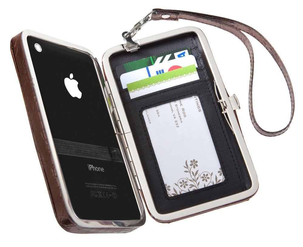 Phone and a wallet to text or call someone and pay for lunch