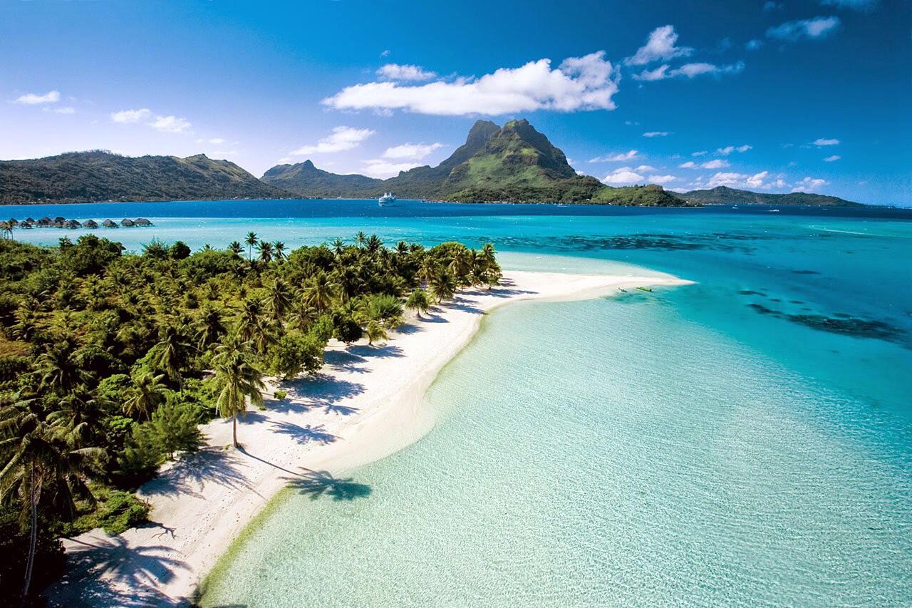 9. Matira beach, bora bora, French Polynesia