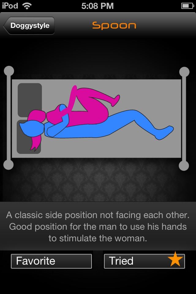 which position do women prefer