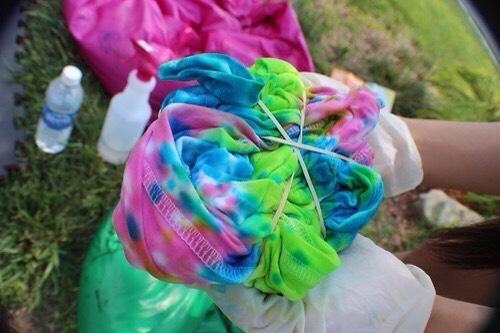 Tie Dye.   src: weheartit