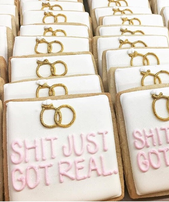 Awesome Bridal shower cookies!