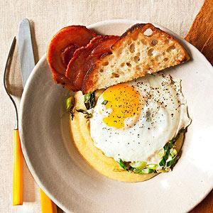 Make this breakfast-for-dinner or even brunch.