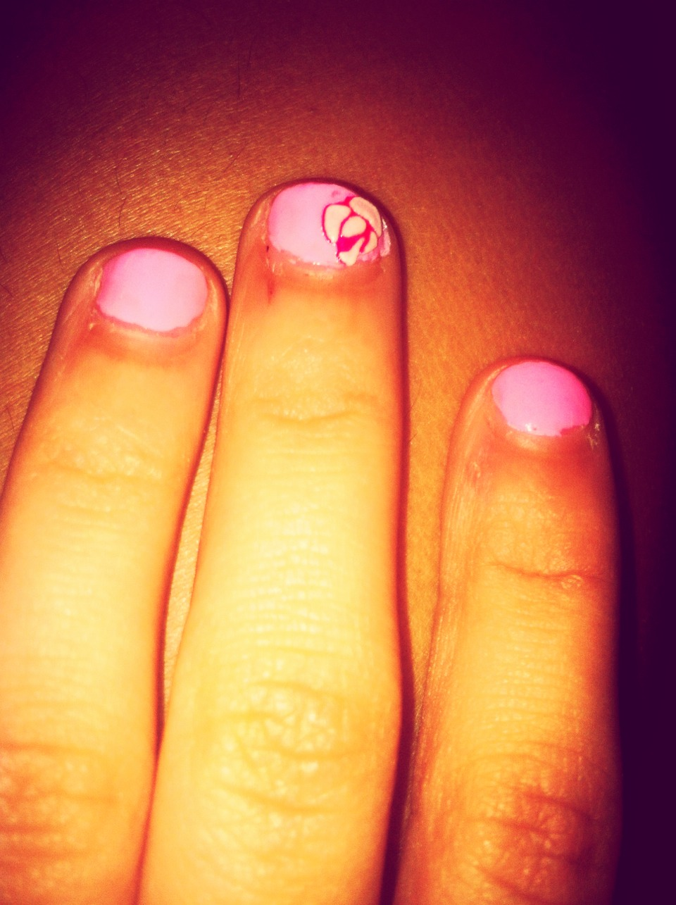 This is the nail design.