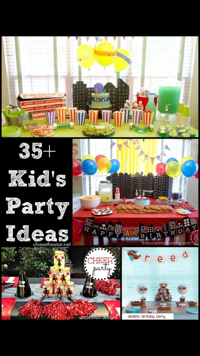 35 Kid S Party Ideas By Kris Marson Musely