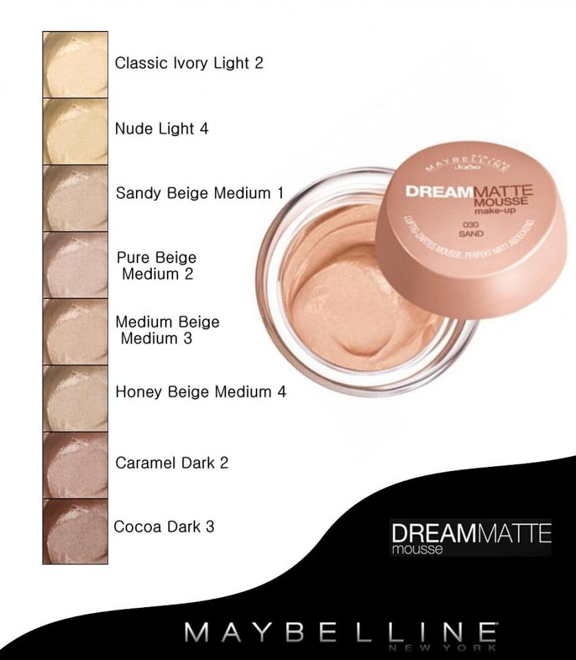 After trying DOZENS of foundations, this one proved to be the best. Dreams Matte Mousse by Maybelline. This stuff feels AMAZING when you put it on. Avoid rubbing this onto your face as this will cause the skin to become more red, instead, try a tapping motion to blend it onto your skin.