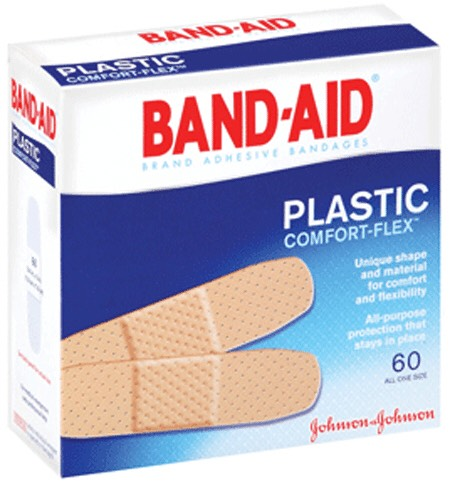 Bandaids in case you get a paper cut at work.