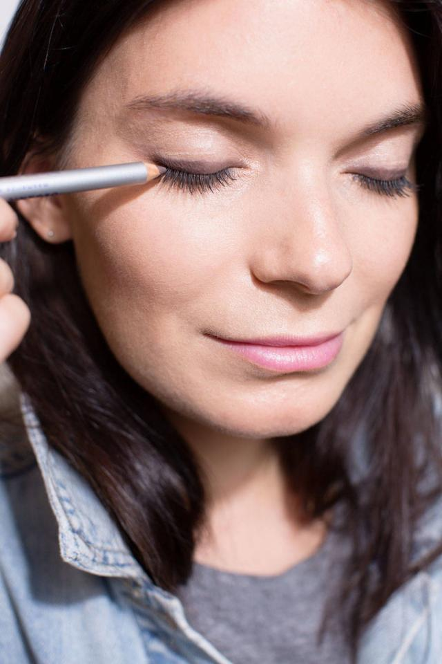 6. Use an ashy brown eyeliner as your everyday shade — it gives instant dimension to your eyes and isn't as harsh as black.