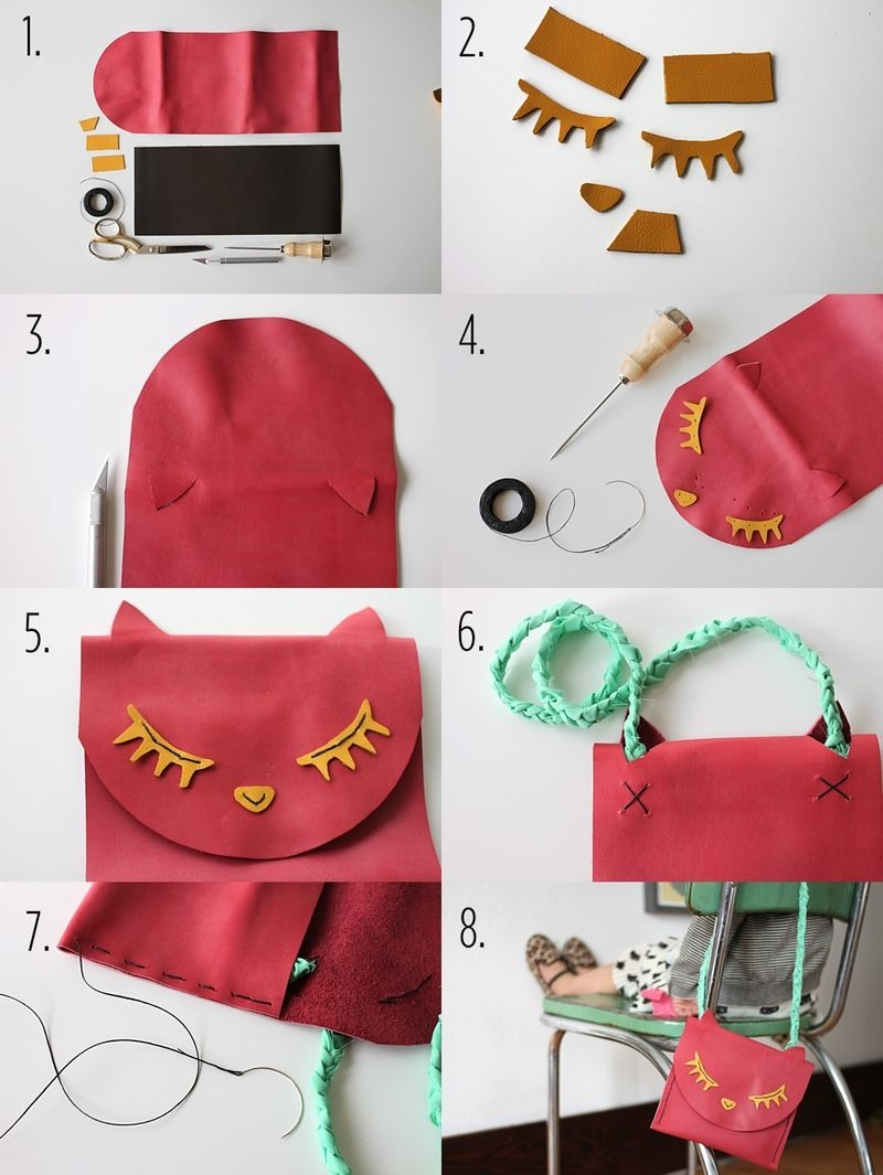 DIY cute pouch to keep your bracelets and jewellery!