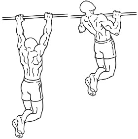 Start off any workout with stretching the muscle you are going to be working out! Here I like to do around 3 sets till failure to get my back pumped and ready for the workout! If you can't do a pull up its okay :) there are assisted pull up machines!